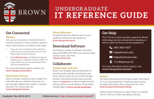 it reference guide - Computing & Information Services