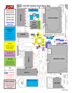 ASU MU Outdoor Event Space Map