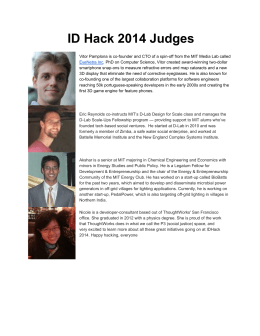 View judge bios