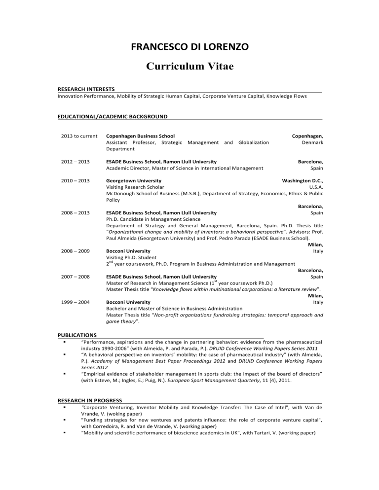 Copenhagen business school thesis guidelines rutgers essay preview