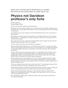 the article here. - Davidson Physics