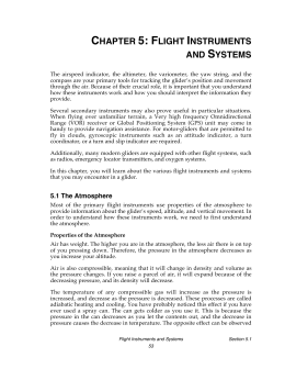 chapter 5: flight instruments and systems