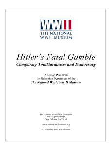Hitler's Fatal Gamble - The National WWII Museum