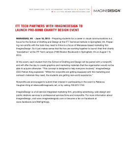 ITT TECH PARTNERS WITH IMAGINEDESIGN TO LAUNCH PRO