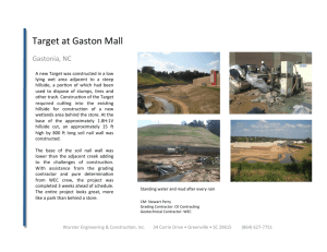 Target at Gaston Mall - Wurster Engineering & Construction, Inc.