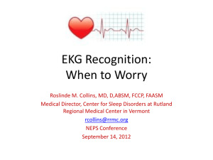 EKG Recognition: When to Worry