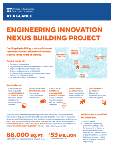 ENGINEERING INNOVATION NEXUS BUILDING PROJECT