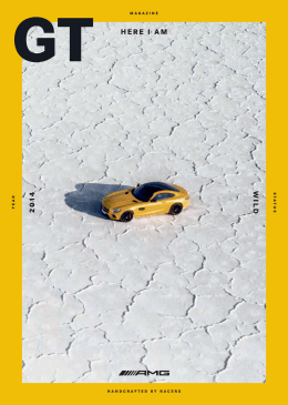 Magazine Mercedes-AMG GT - Daimler Global Media Site > Home