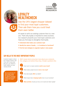 loyalty healthcheck