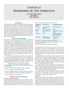 CHAPTER 57 Disorders Of The Umbilicus