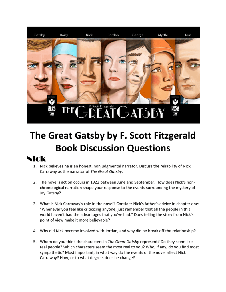 a summary of nick carraways storyline in the great gatsby by f scott fitzgerald