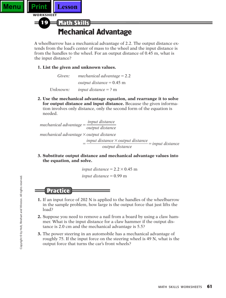 worksheet Calculating Mechanical Advantage Worksheet With Answers 008437704 1 d95e2b9595b5e3576ea8b7920d675490 png