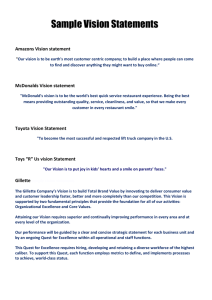 Sample Vision Statements - Members Area Builders Profits