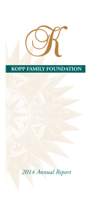 2014 Annual Report - Kopp Investment Advisors