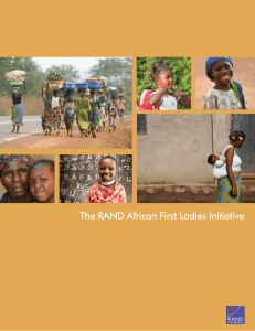 The RAND African First Ladies Initiative