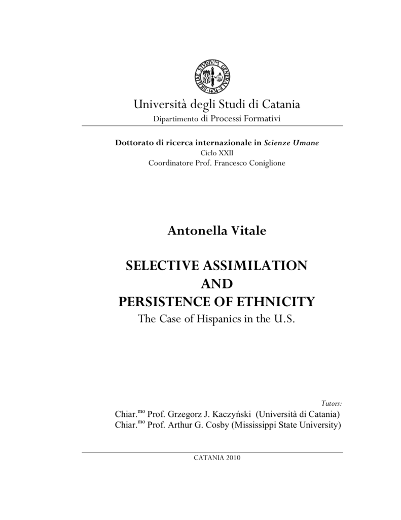 selective acculturation
