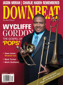 DOWNBEAT.COM OCTOBER 2014 U.K. £3.50