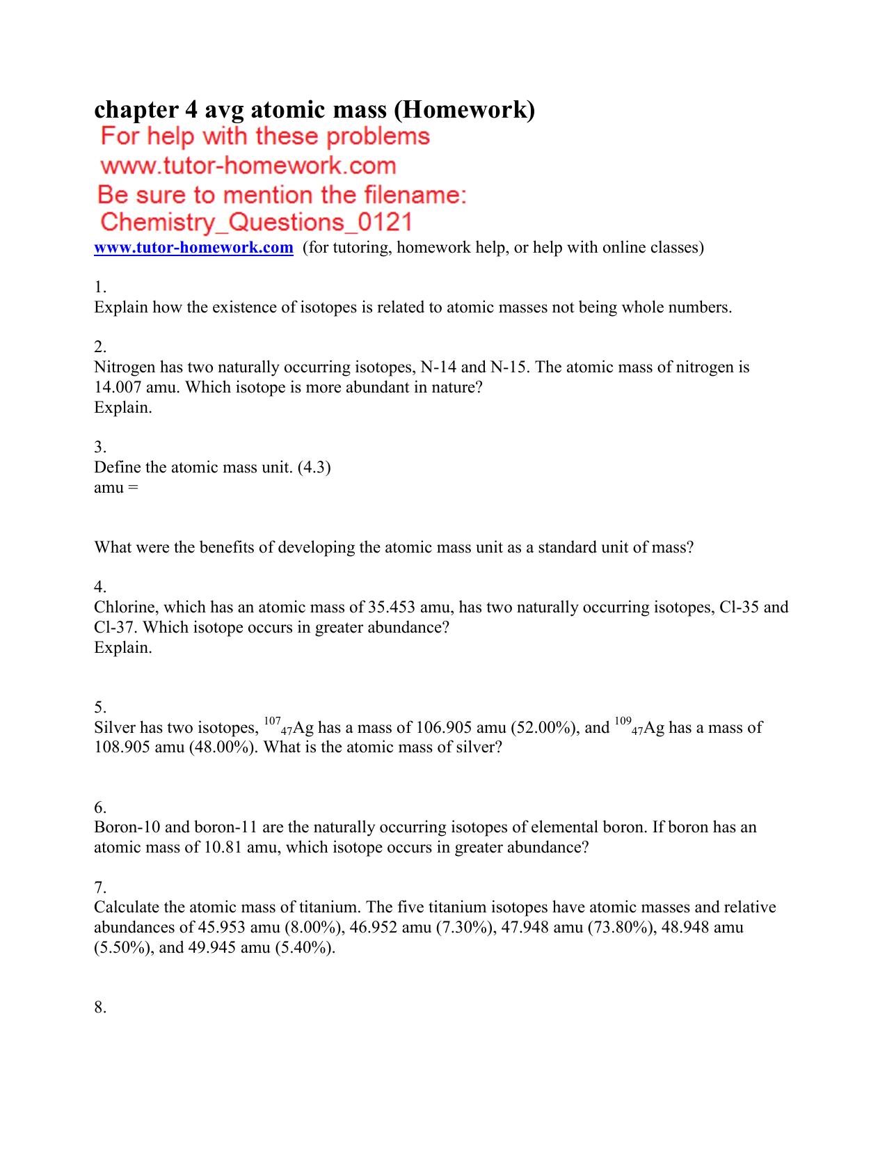 All Grade Worksheets Isotopes Worksheet Answers All Grade – Isotopes Worksheet