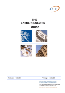 The Entrepreneurship Guide
