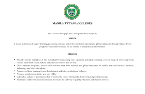 MANILA TYTANA COLLEGES