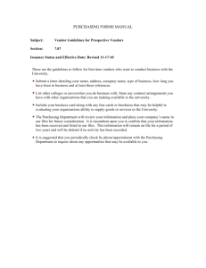 purchasing forms manual - University of Hartford