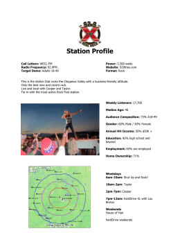 Station Profile - Mid-West Family Broadcasting