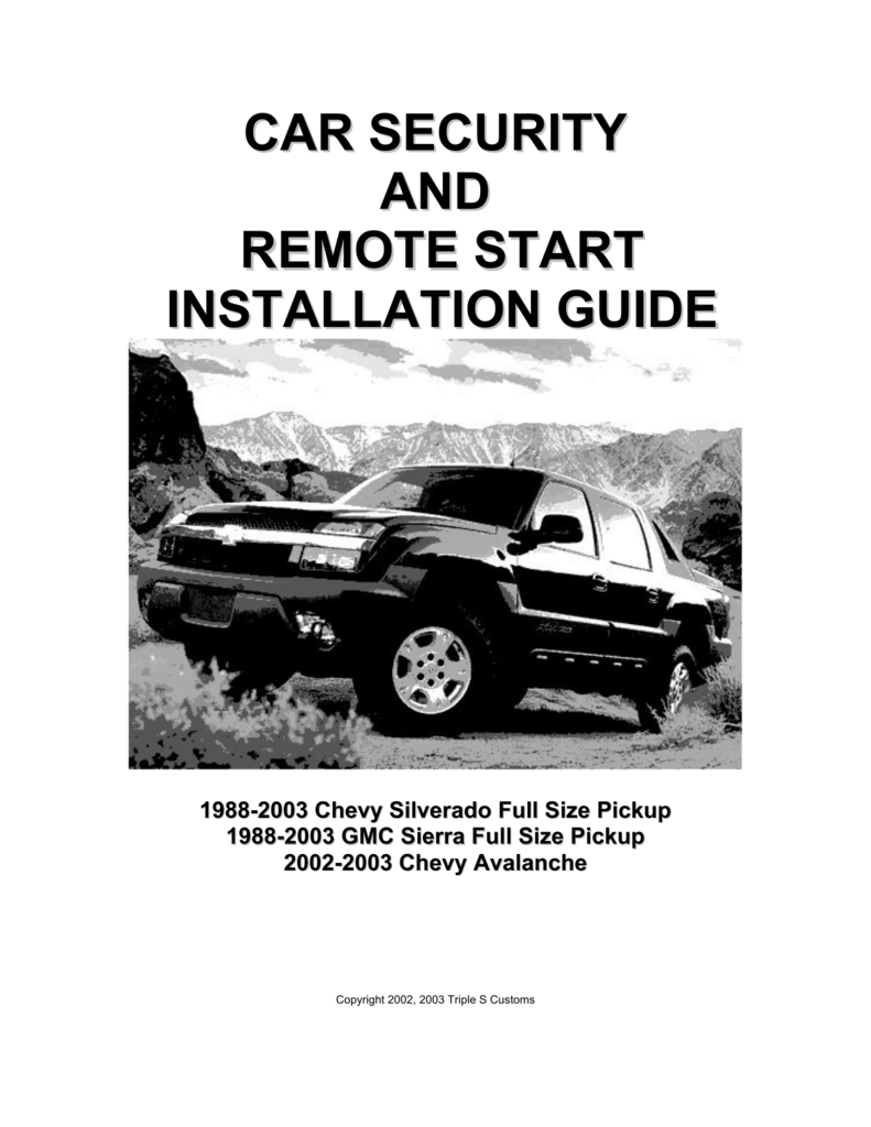 Car Security And Remote Start Installation Guide Adding A Starter Solenoid To Your Chevy My Way 008442263 1 A1183a88d0a67ac61c61f82833e461b2