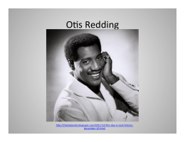 final presentation - group 2 - otis redding.pptx