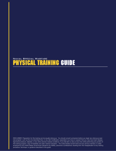 Physical Training Guide - SEALSWCC.COM | The Official Navy