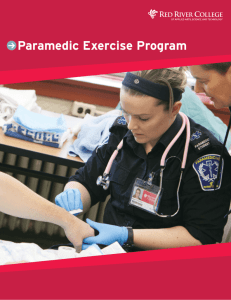 Paramedic Exercise Program - RRC blogs