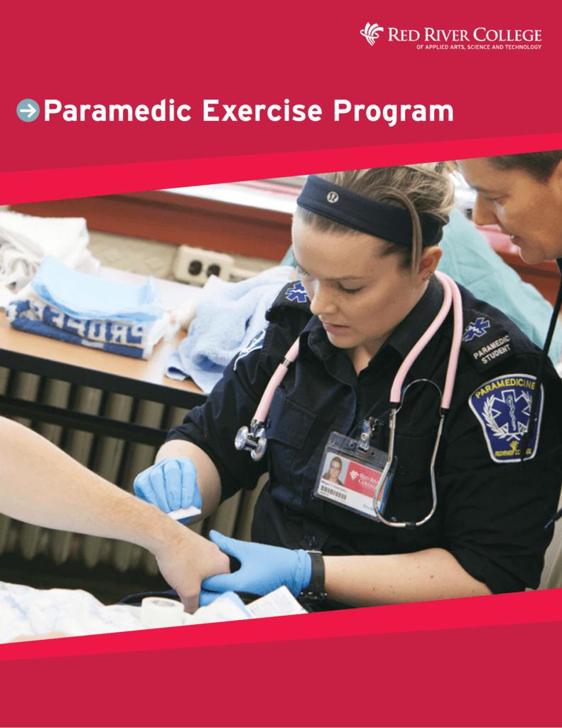 Paramedic Exercise Program Rrc Blogs