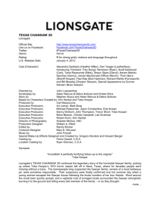 Fact Sheet - Lionsgate Publicity