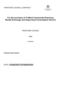 TRAFFORD DRUG AND ALCOHOL ACTION TEAM