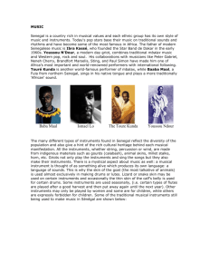 Senegal Cultural Field Guide Ethnic Groups