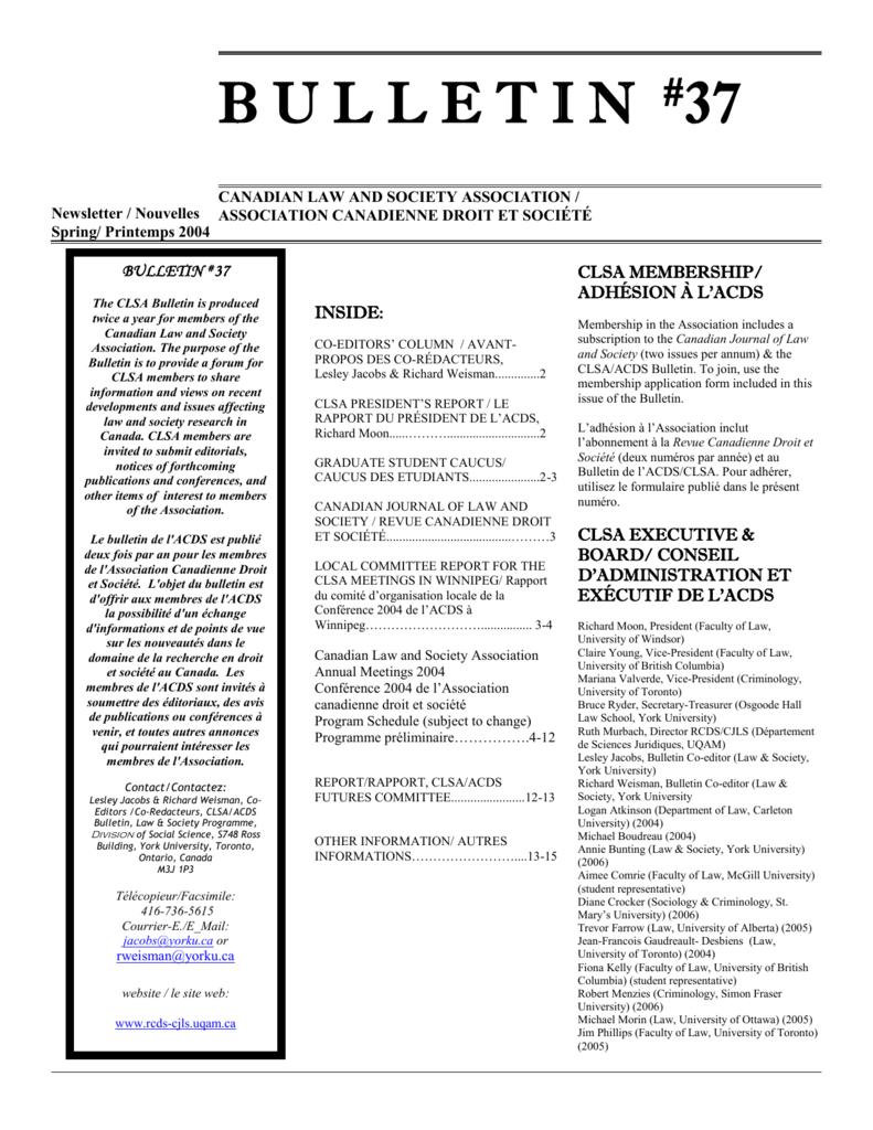 Newsletter - Trimline - Faculty of Liberal Arts   Professional Studies c2d830ebb5c7