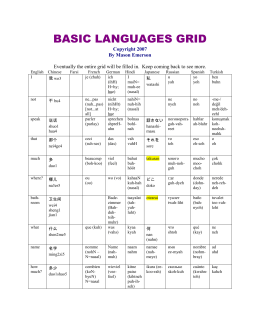basic languages grid