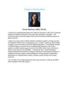 read profile - College of Nursing | Nova Southeastern University