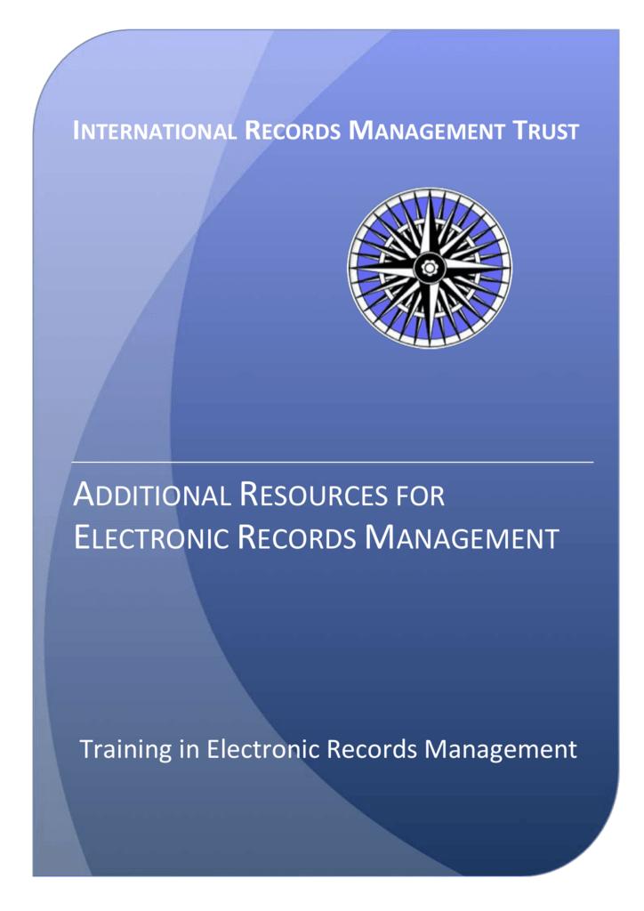 International Records Management Trust