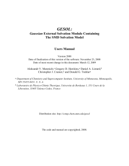 5. Citation of the GESOL program and the