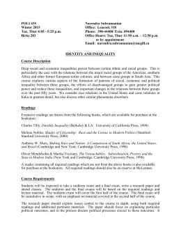 poli 260 essay