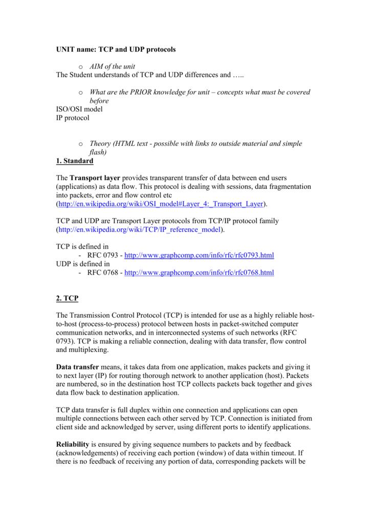 WINDOWS TCP HANDSHAKE TIMEOUT - UNIT name: IP protocol