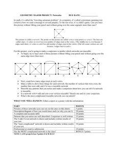 GEOMETRY PROJECT: Networks
