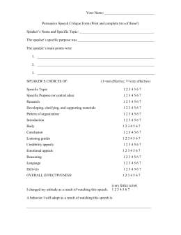guest speaker summary template