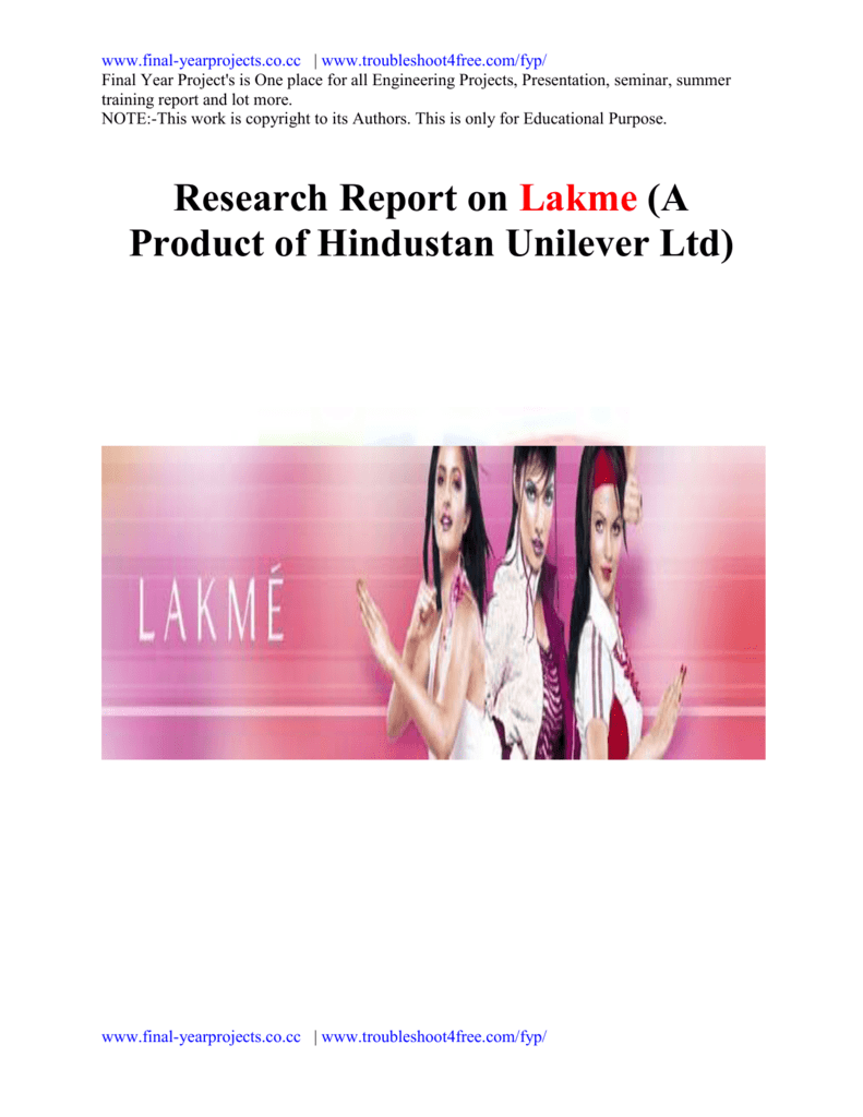 lakme products advertisement