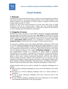 Causal Analysis – intro text