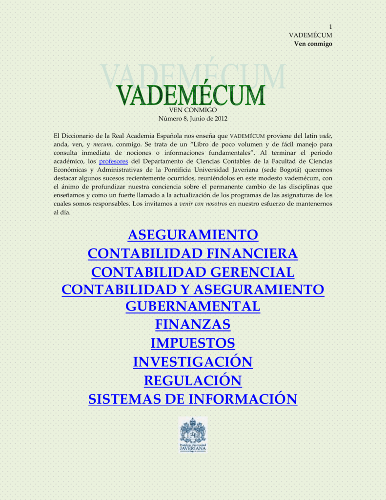 vademecum8 - Pontificia Universidad Javeriana