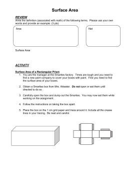 Coordinate Algebra Formula Sheet