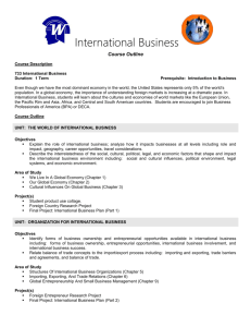 International Business - Wayzata Public Schools