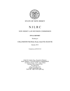 WORD - New Jersey Law Revision Commission