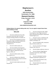 For a copy of the General Auction catalog for Friday, December 4th